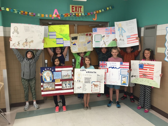 Cullins Elementary students excel in local poster competition