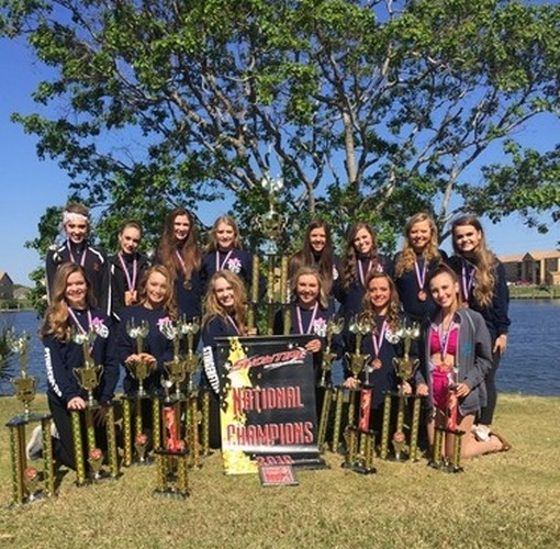Stingerettes win multiple awards at Showtime Nationals