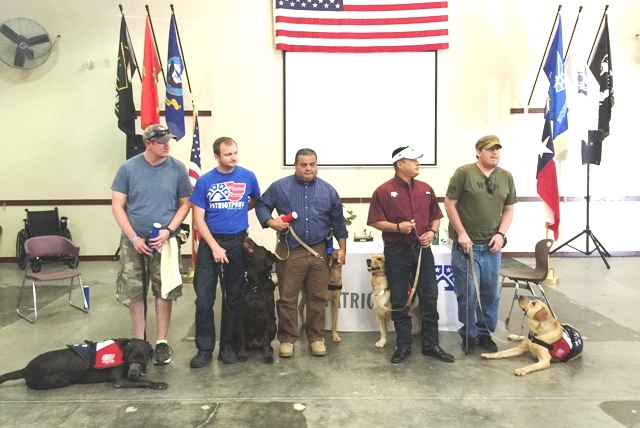 Veterans to unite with service dogs at Patriot PAWS graduation