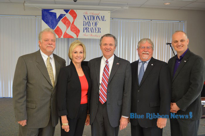 Rockwall mayors, residents observe National Day of Prayer 2016