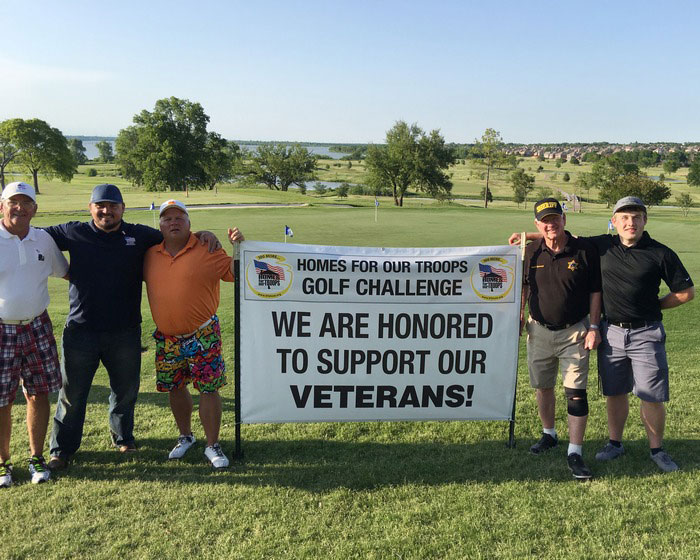 Homes for Our Troops holds golf tourney to benefit injured veterans