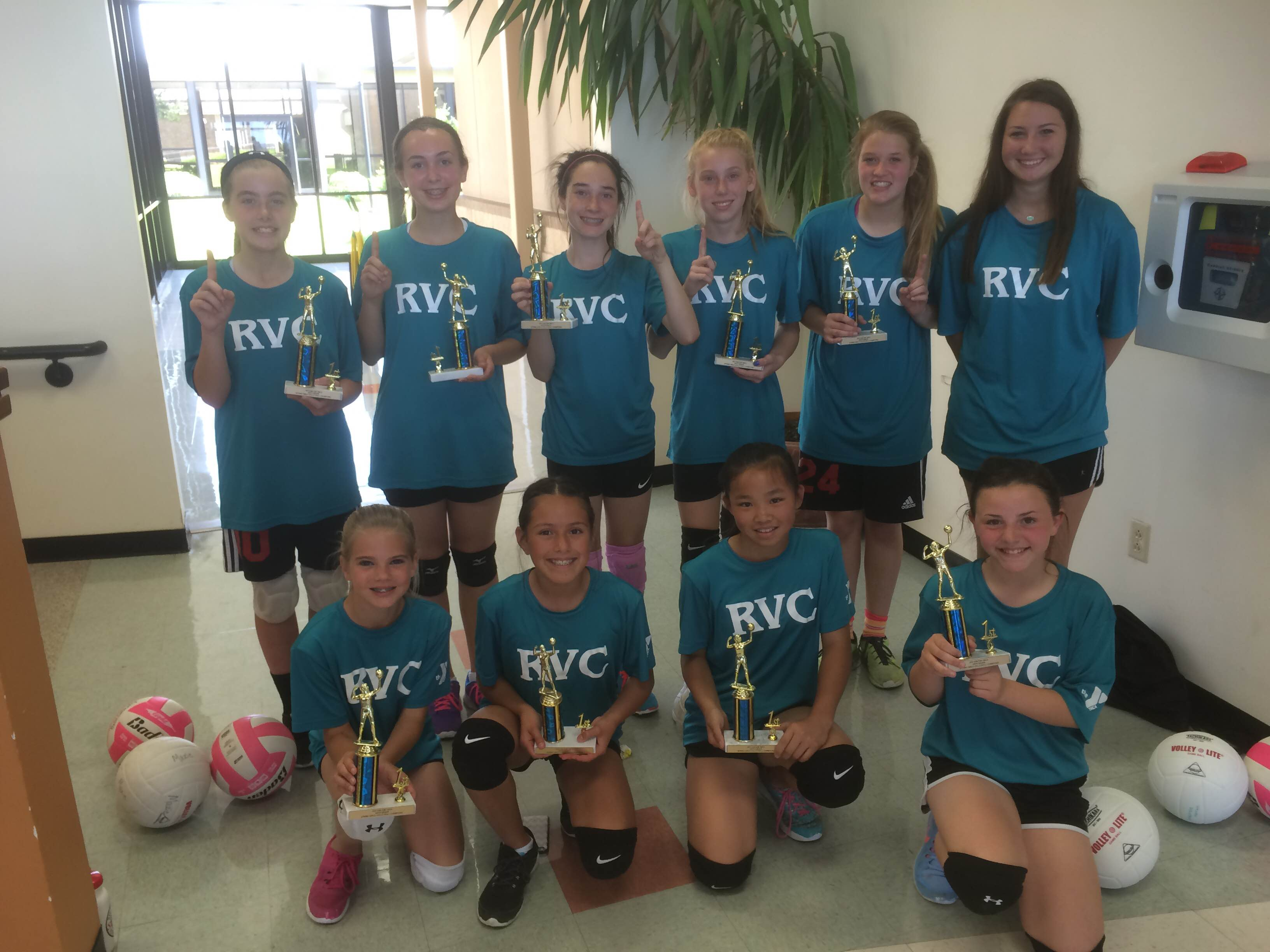 Volleyball participation spikes at Rockwall Y, spring season ends with championship tournament