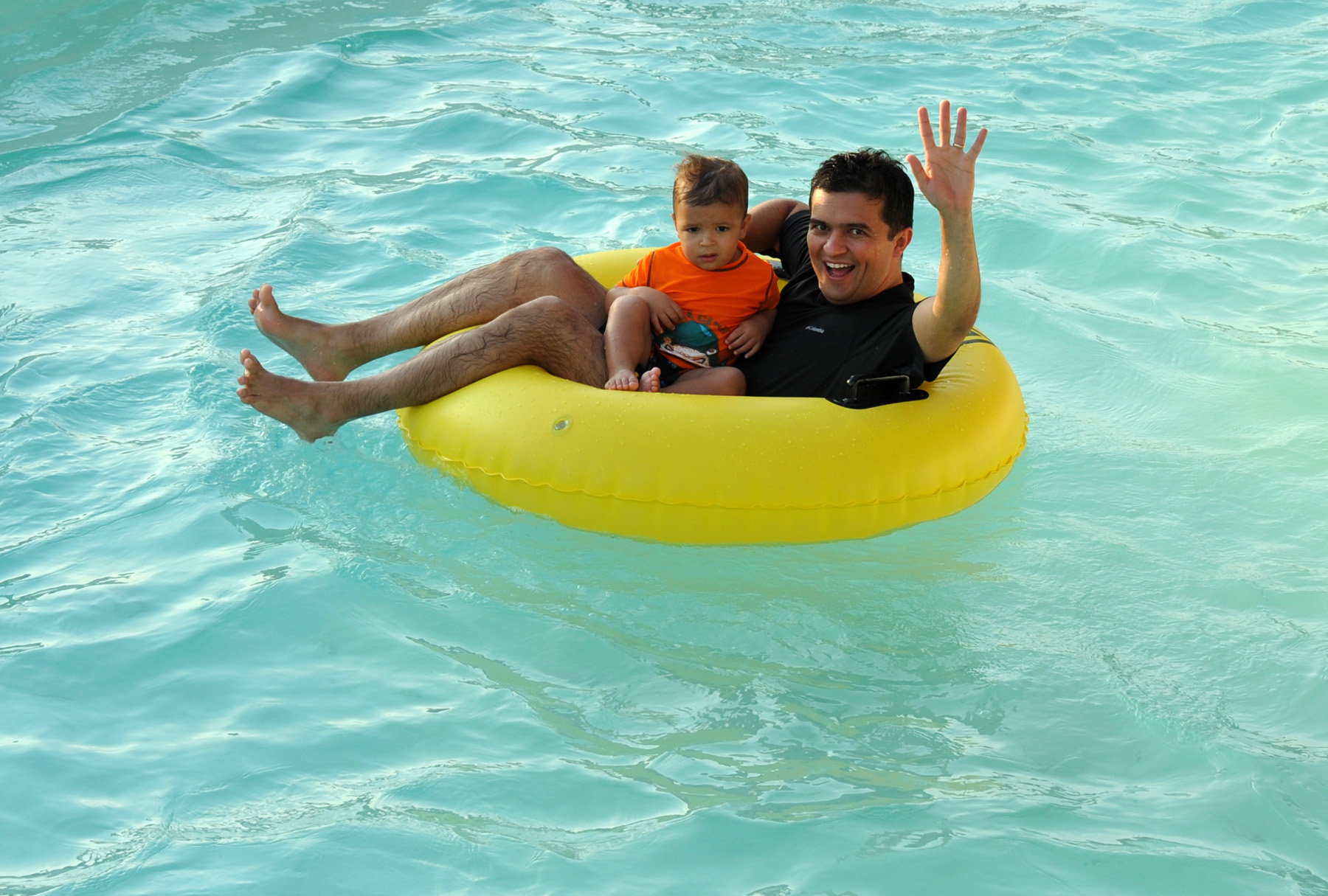 Dads, Granddads free Father's Day week at all Hawaiian Falls Waterparks