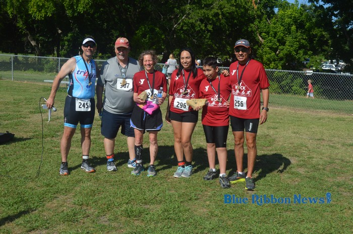 Rockwall YMCA holds successful first Y ROCK Sprint Triathlon