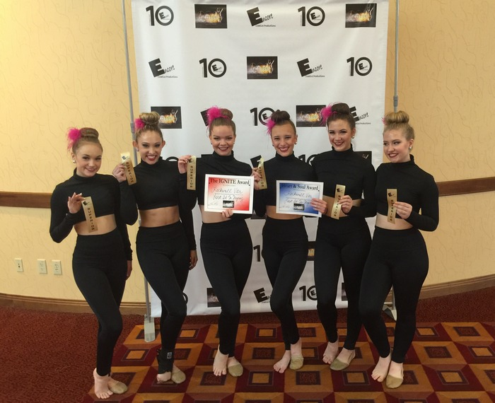 Stingerettes win gold at Encore Creative Productions Officer Camp