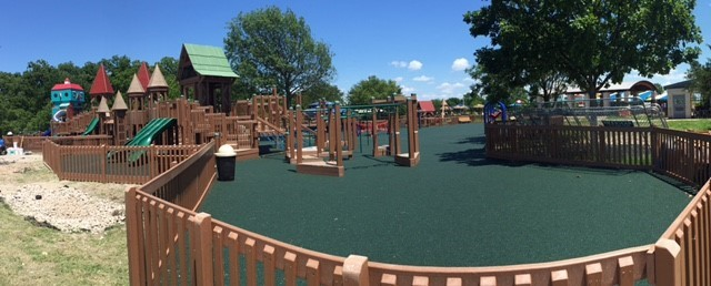 Grand opening for Rowlett's new state-of-the-art kids playground July 9