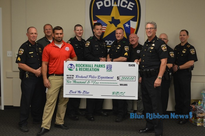 Community hits home run with Back the Blue Baseball Tournament