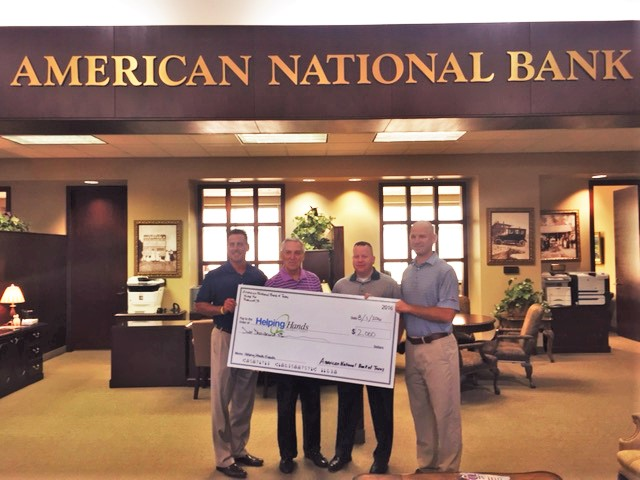 American National Bank to sponsor upcoming Rockwall Helping Hands fundraising events