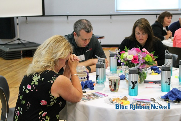Chamber Hosts New Teacher Welcome Breakfast Blue Ribbon
