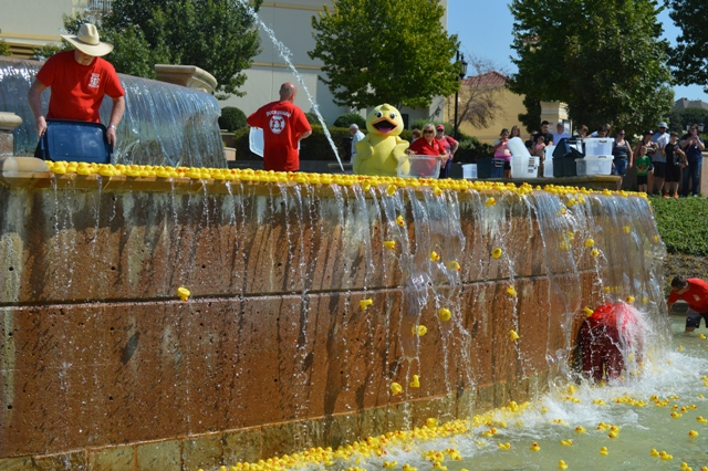 Duck sales underway for Rubber Duck Regatta