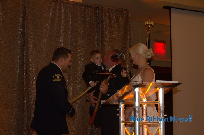 Firefighters Ball draws record attendance, honors boy injured on Lake Ray Hubbard