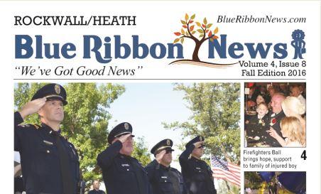Blue Ribbon News Fall print edition hits mailboxes throughout Rockwall, Heath