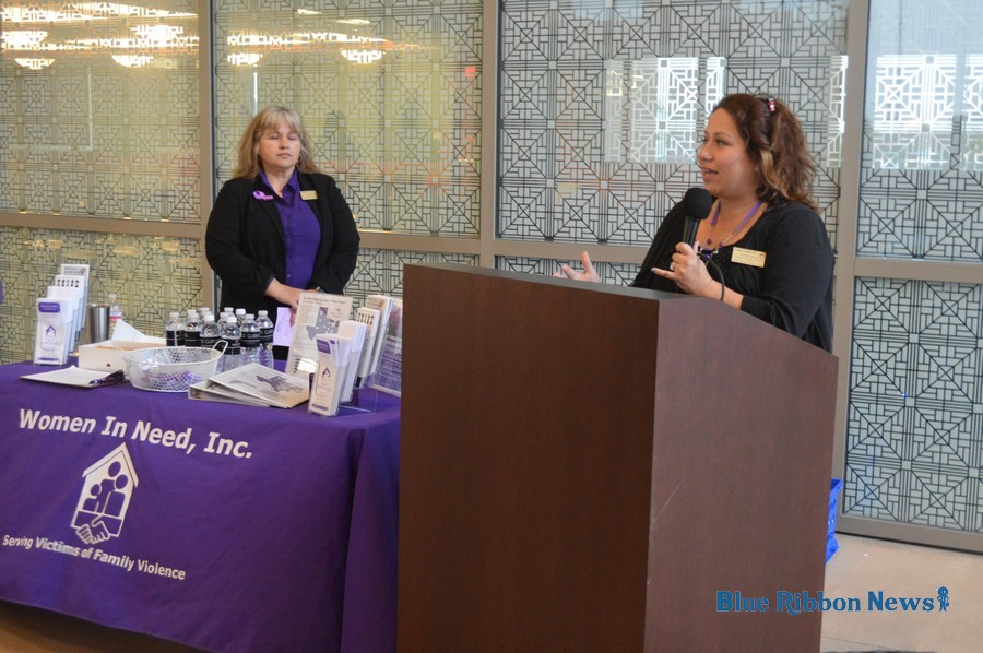 Women In Need vigil recognizes Domestic Violence Awareness Month in Rockwall