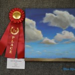 "Acrylic: 2nd place – Elaine Liner, ""Lost In The Hill Country"""