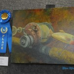 "Oil: 1st place – Joe LaBarre, ""World Record"""