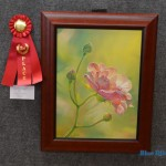 "Oil: 2nd place – Anna Castro, ""Contentment"""