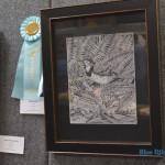 "Honrable Mention: Drawing – Terri Benson, ""Meadowlark"""