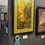 "Honorable Mention: Water Media – Donna Myers, ""Sunflower"""