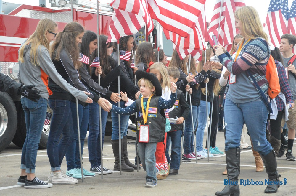 Huge turnout for Snowball Express, families of fallen heroes