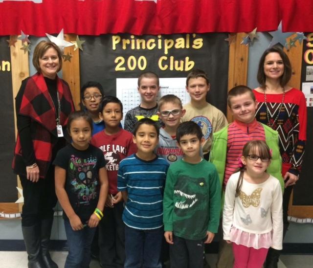 Springer Elementary announces Principal's 200 Club Winners