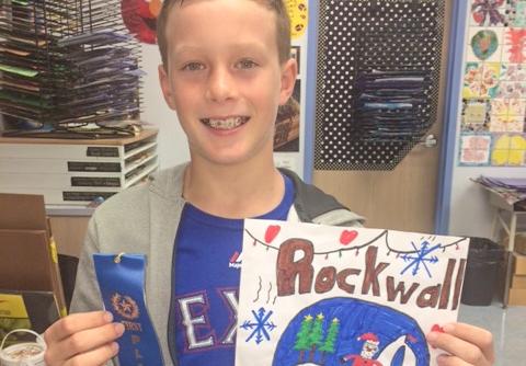 Pullen 4th grader named Rockwall Kiwanis Christmas Parade Grand Marshall