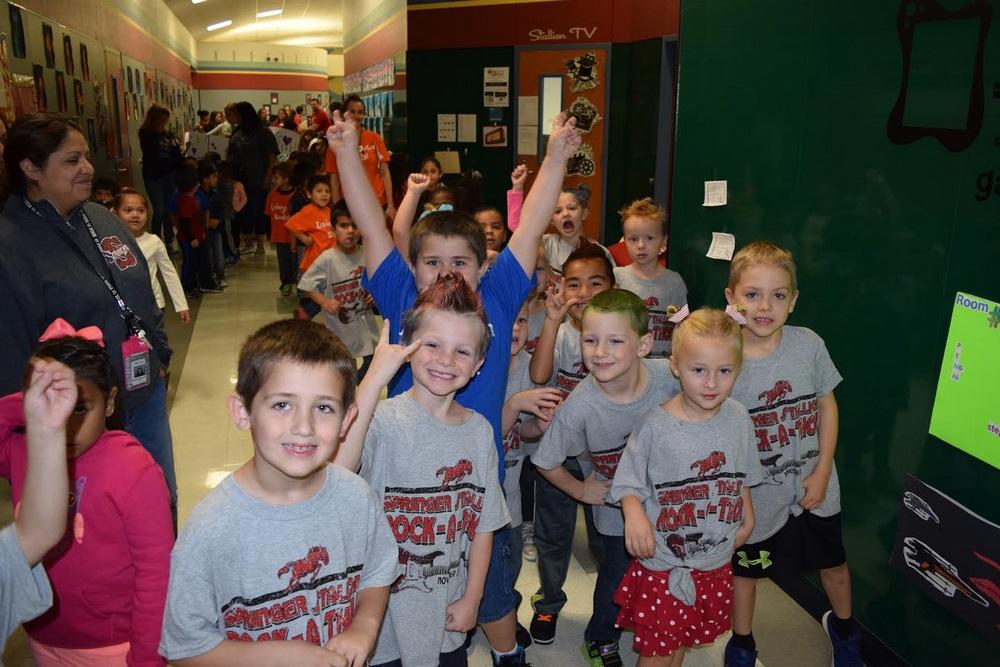 Springer Elementary PTA Rock-A-Thon Fundraiser a big success