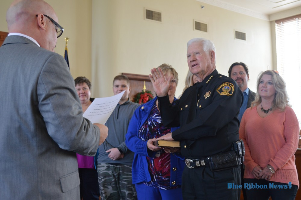 Rockwall County officials sworn in | Blue Ribbon News