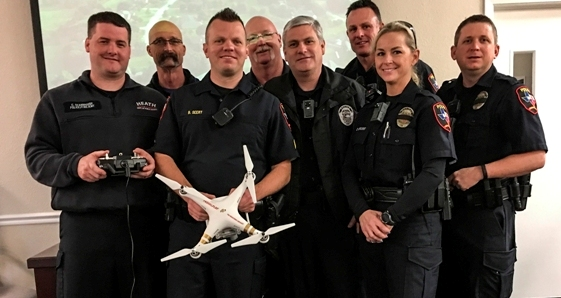 Heath DPS completes Drone Workshop