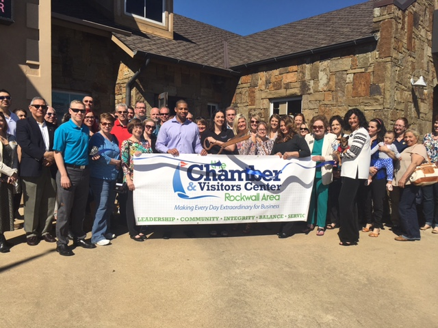 Rockwall Chamber welcomes Petrissage Massage with ribbon cutting, open house