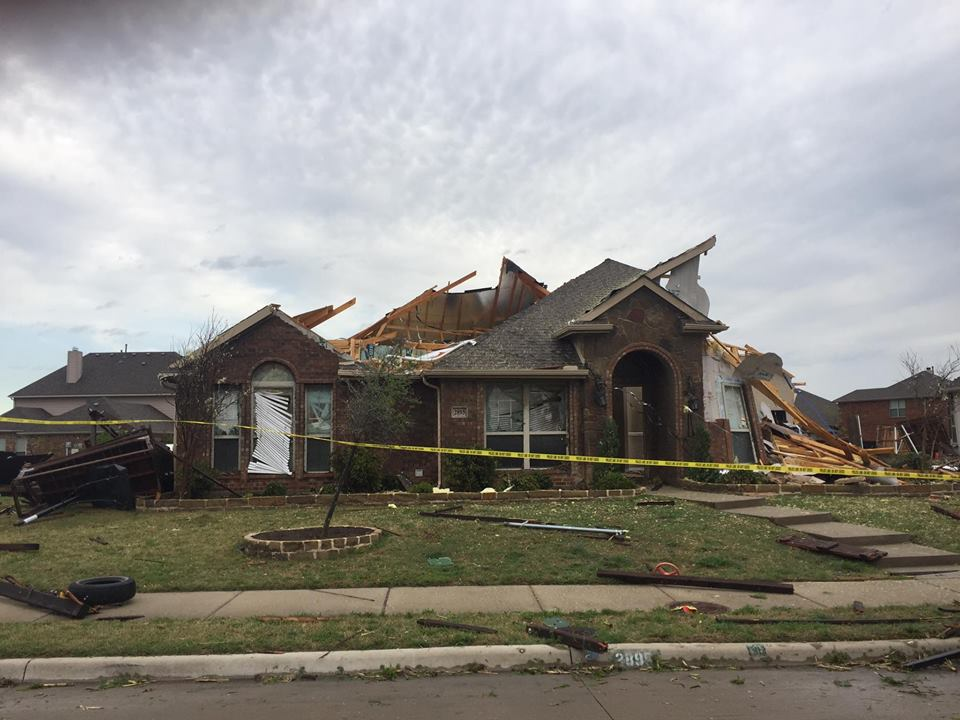 Relief efforts in progress for Rockwall subdivision hit by severe storm