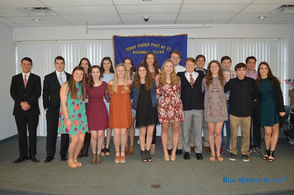 American Legion Post 117 recognizes largest Boys State/Girls State delegation