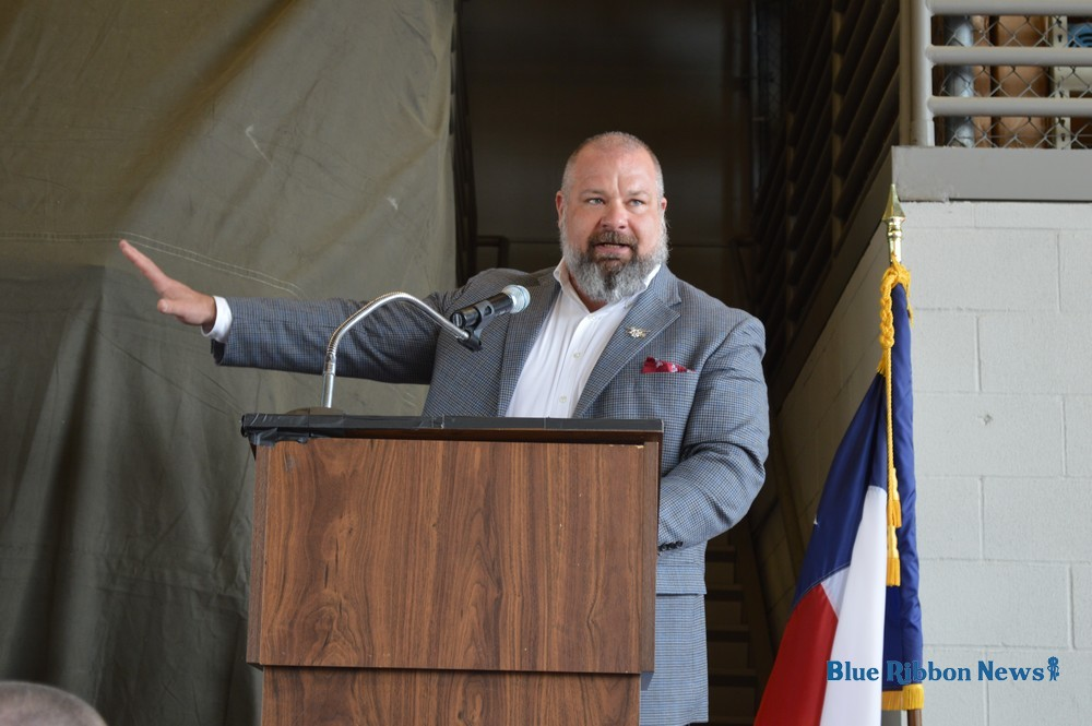 Carry the Load founder gives rousing speech at Annual First Responders Luncheon