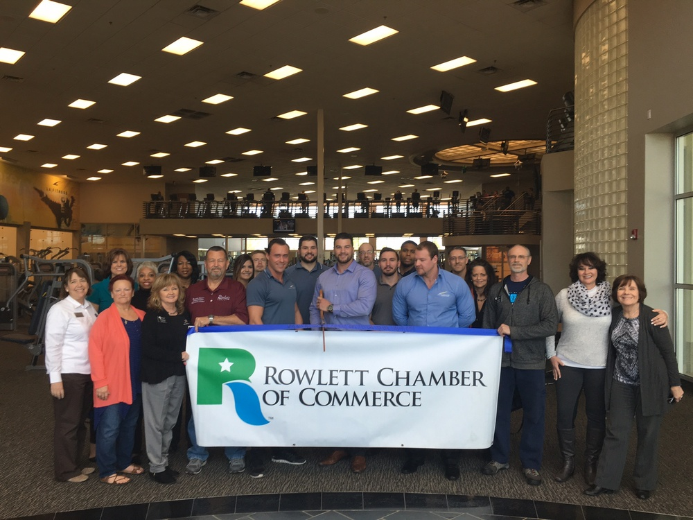 Rowlett Chamber holds ribbon cutting to welcome LA Fitness