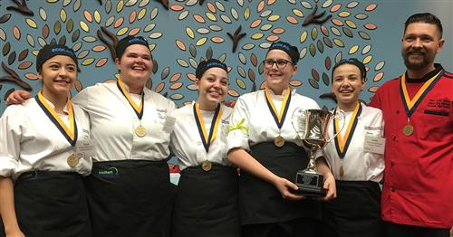 Rockwall ISD Culinary Arts team advances to nationals