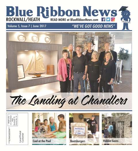 Blue Ribbon News June print edition hits mailboxes throughout Rockwall, Heath