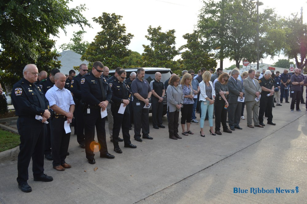 Rockwall Police prayer service honors fallen state law enforcement officers