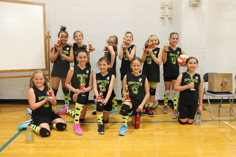 YMCA celebrates spring volleyball championship