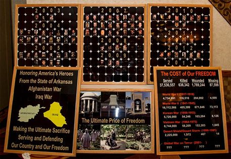 American Legion Post 100 to display Iraq/Afghanistan Traveling Wall