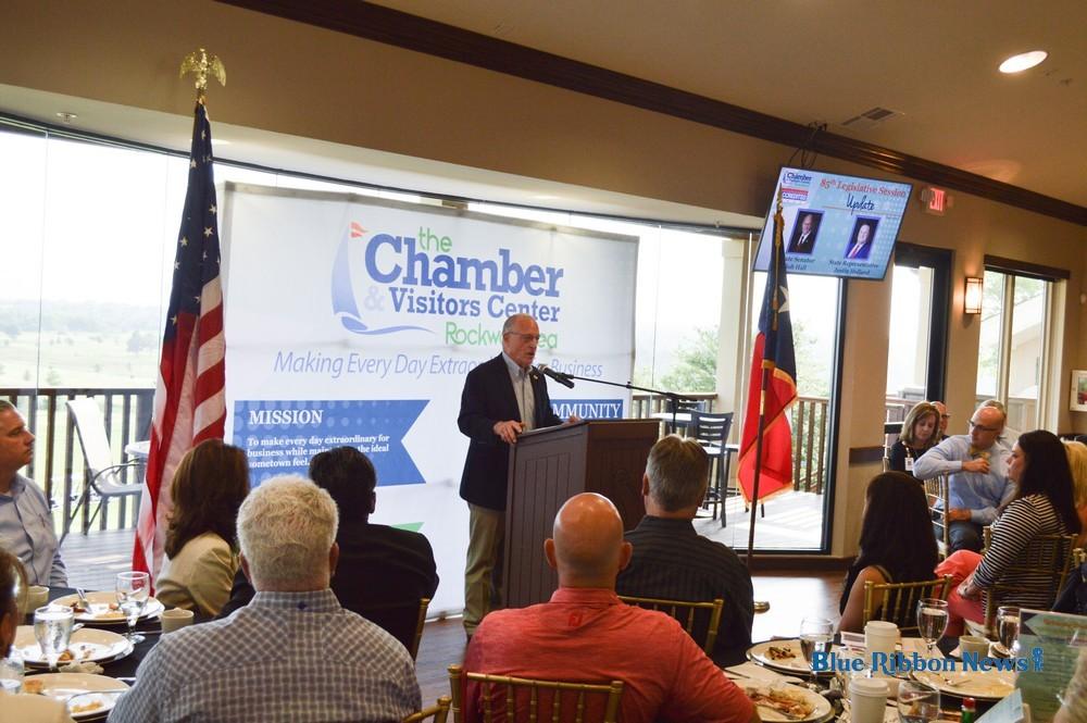 Sen. Hall, Rep. Holland speak on 85th Texas Legislative Session