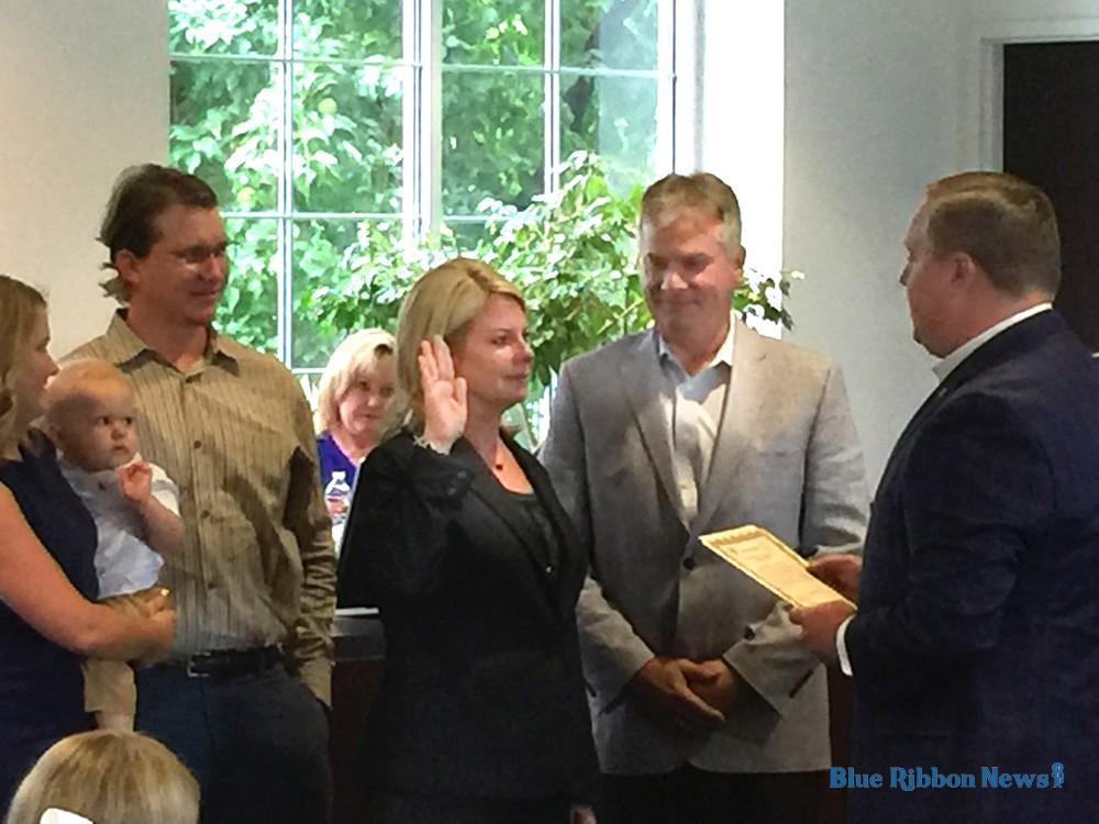 Rockwall city council members sworn in