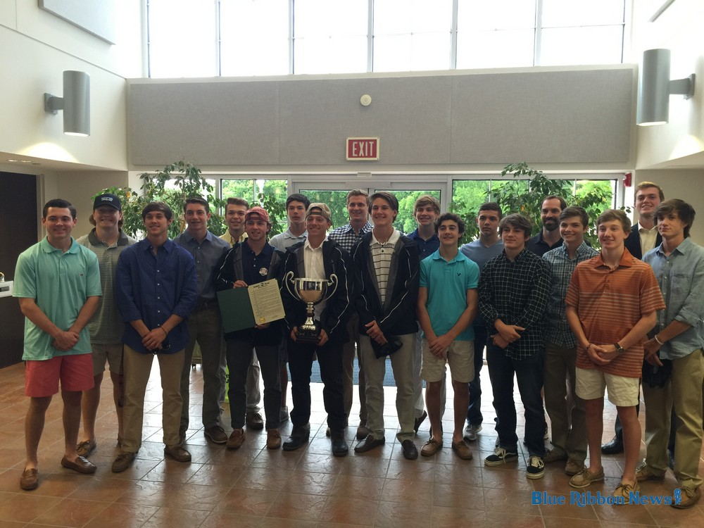 Rockwall and Heath Boys Lacrosse honored at council meeting