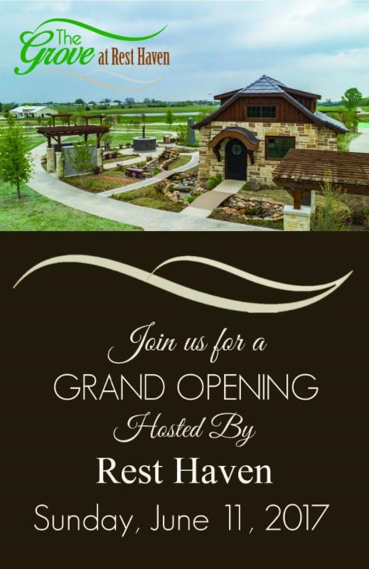 Grand Opening for new Rest Haven development June 11