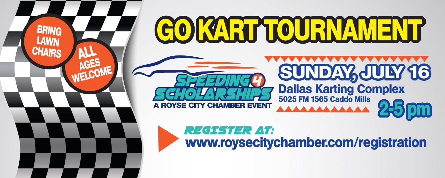 Speeding 4 Scholarships go kart tourney races to town July 16