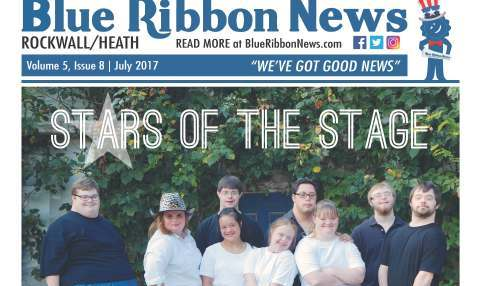Blue Ribbon News July print edition hits mailboxes throughout Rockwall, Heath