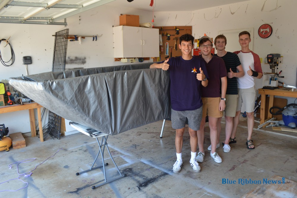 Homemade boat makes successful journey across Lake Ray Hubbard