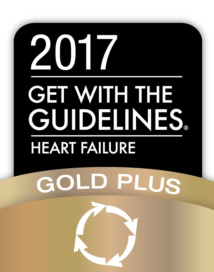 Baylor Scott & White Medical Center – Centennial receives Get With The Guidelines Heart Failure Gold Plus Award