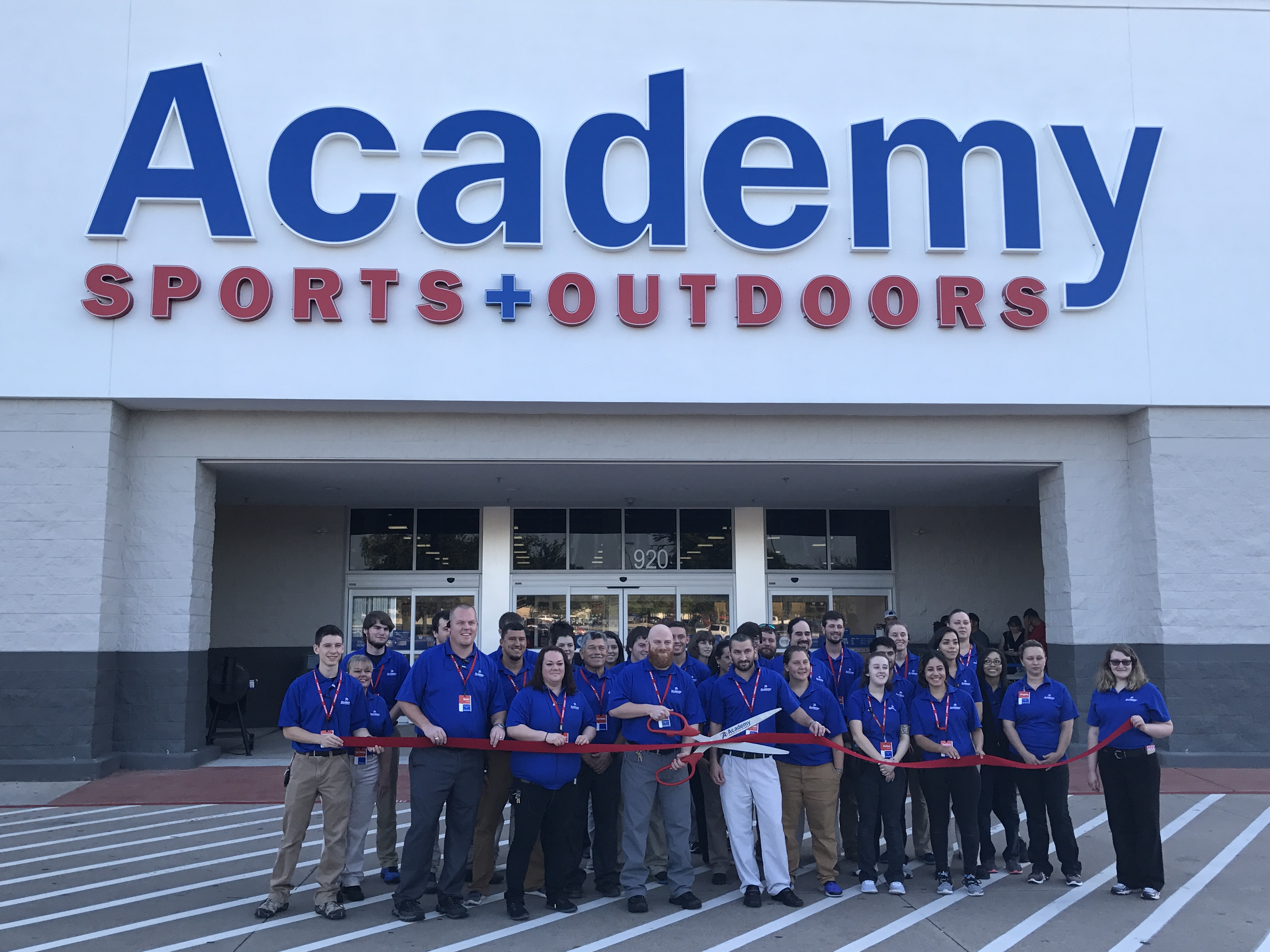 f039d750ee3 Academy Sports + Outdoors makes a splash in the community - Blue ...