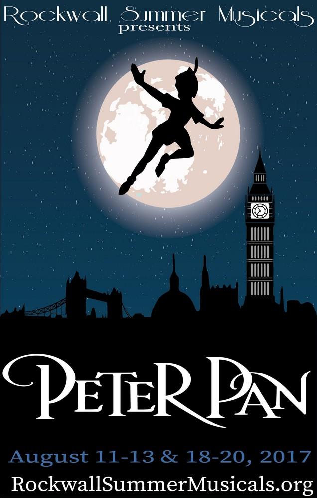 Peter Pan flies to Rockwall August 11-20
