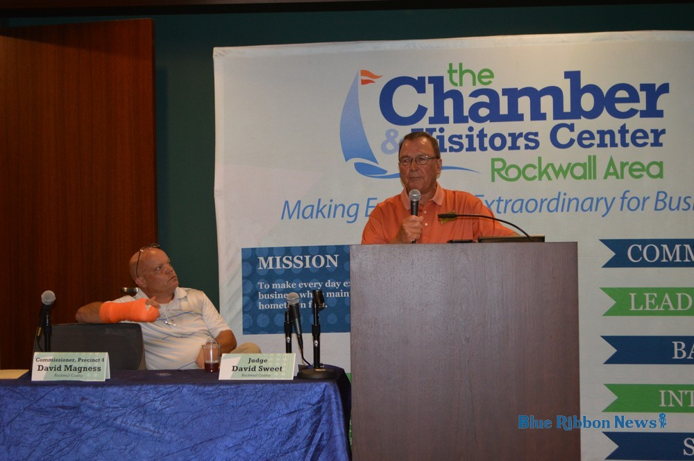 Rockwall Chamber welcomes county road projects update