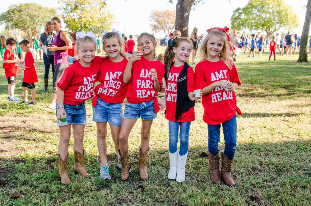Amy Parks-Heath celebrates Texas Week